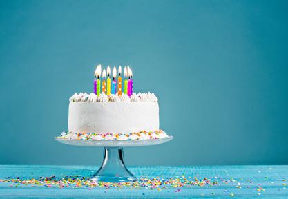 Geburtstagskerzen - Kerzen für jeden Anlass