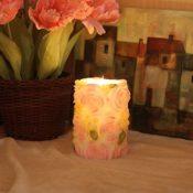 Kerze mit Fernbedienung