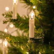 50er LED Kerzen Weihnachten
