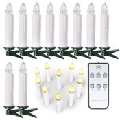 LED Kerzen für den Tannenbaum