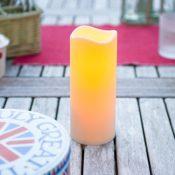 LED Kerze für Außen