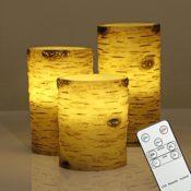 LED Kerzen mit Fernbedienung